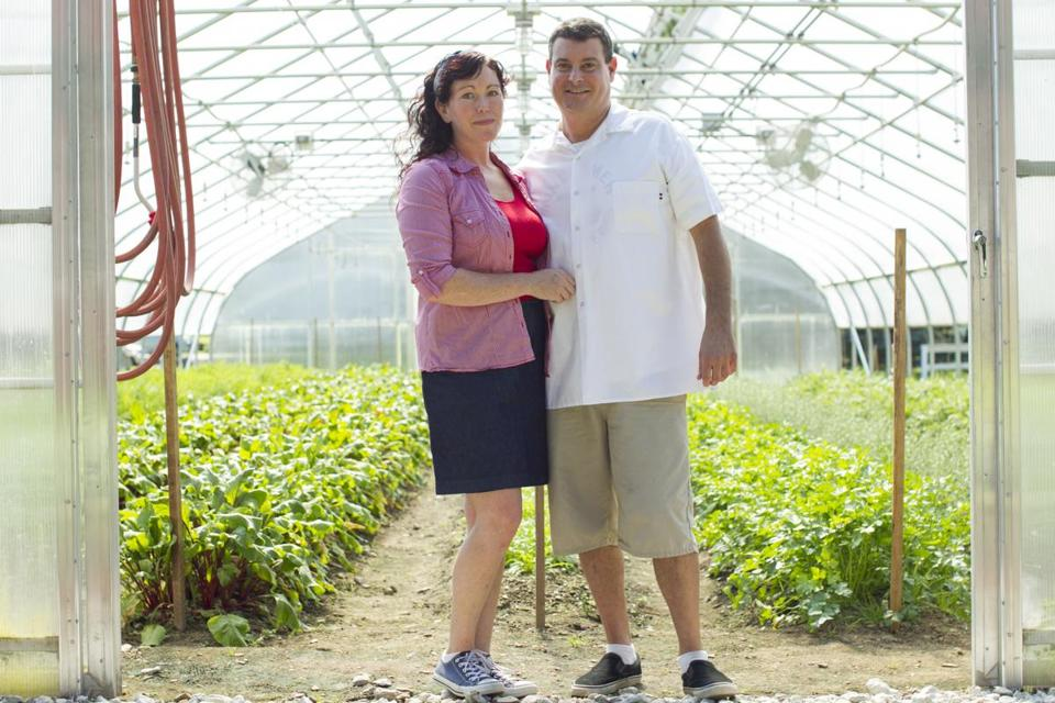 At Valicenti Organico, Michelle and David Valicenti produce fresh pasta and ravioli, and grow all the tomatoes for their signature sauces.
